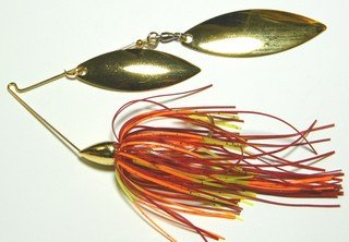War Eagle 1/2 Double Willowleaf Spinnerbaits