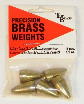 Top Brass Brass Worm Weights