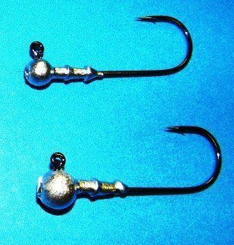 Gamakatsu 5/0 Jig Heads- 1/8 and 1/4 oz.