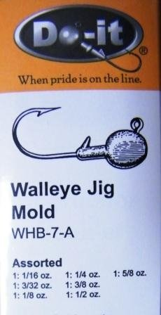 Walleye Jig Mold